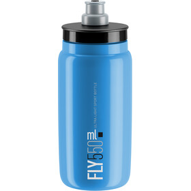 Elite Fly Drinking Bottle 0.5 l, blue/black logo